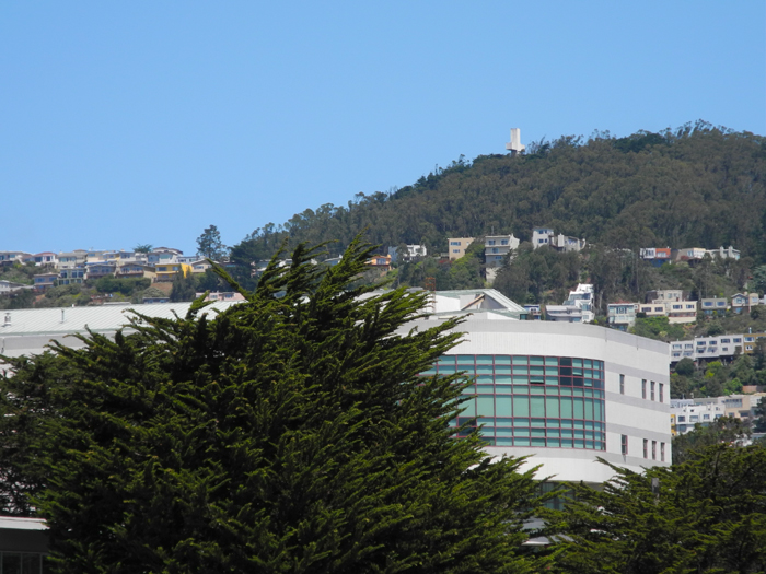 Northwest toward Mount Davidson