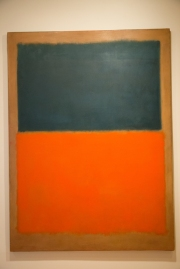 Green-and-Tangerine-on-Red-(1956)