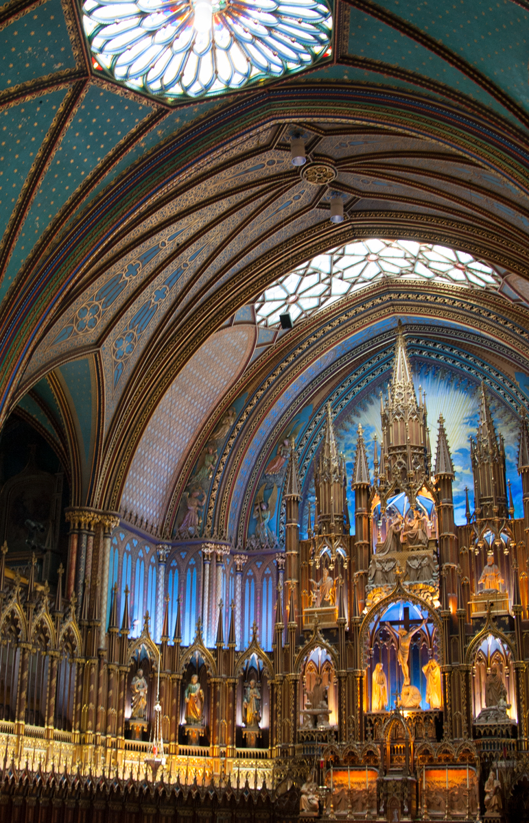 Basilique Notre-Dame de Montreal, Quebec, 2009