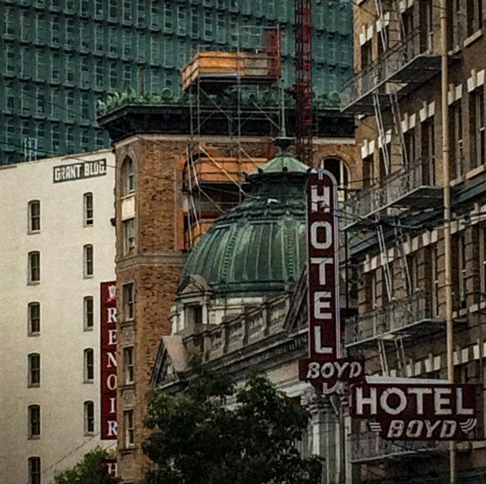 Boyd Hotel, San Francisco, 2016