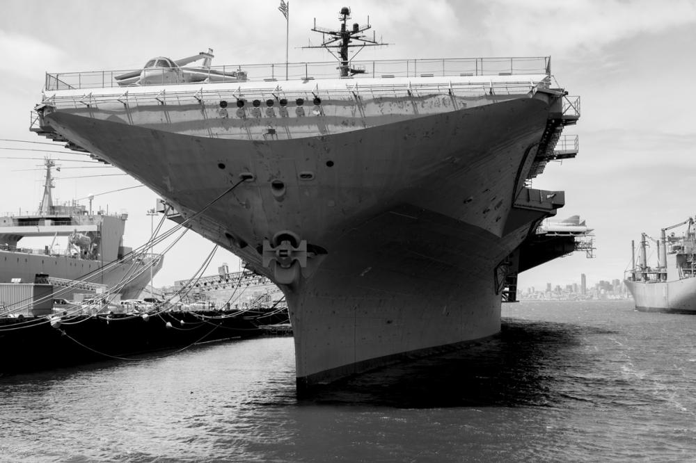 USS Hornet, Alameda, 2010